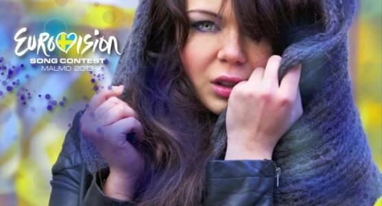 Алина Гросу подала заявку на Евровидение 2013 от России.