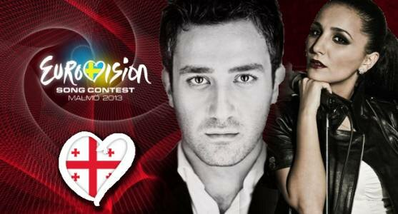"""Дуэт """"Софо Геловани и Нодико Татишвили"""" представит Грузию на Евровидении 2013."""