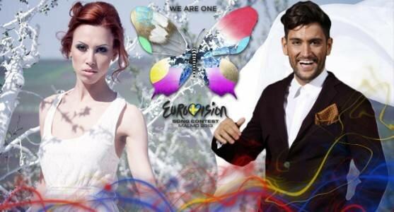 Выпущены видеоклипы представителей Молдовы и Румынии.