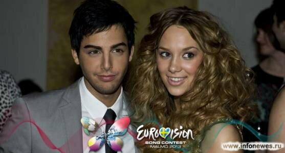Дарин и Агнес выступят в интервал-акте второго полуфинала Евровидения 2013.