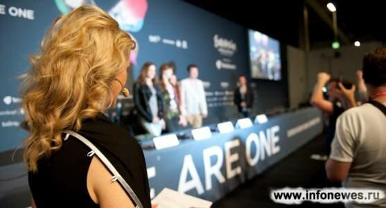 Пресс-конференции участников второго полуфинала Евровидения 2013.