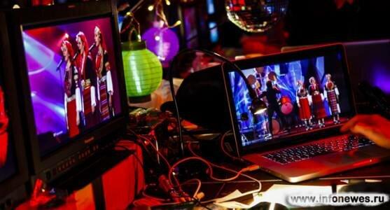 Участники второго полуфинала Евровидения-2013 продолжают репетиции...